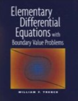 Elementary Differential Equations with Boundary Value Problems textbook