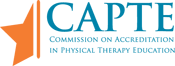 Commission on Accreditation in Physical Therapy Education logo