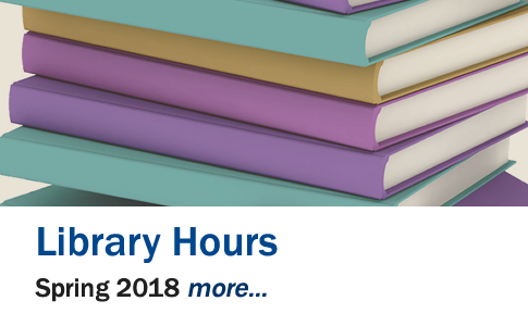 Library Hours Spring 2018