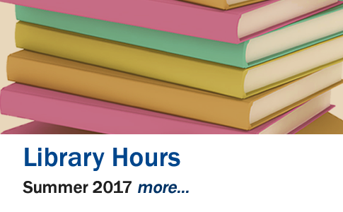 Library Hours Summer 2017