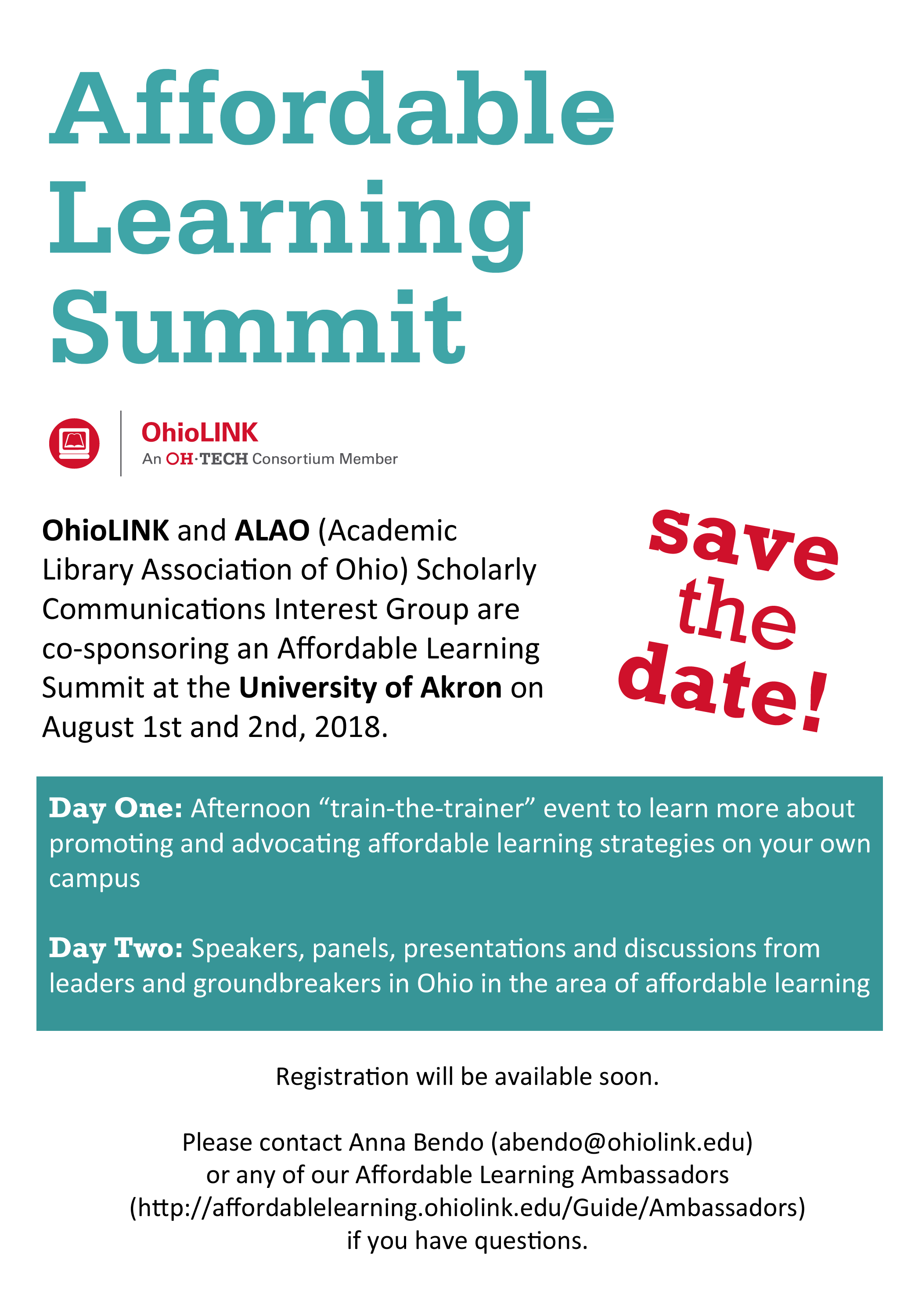 Affordable Learning Summit