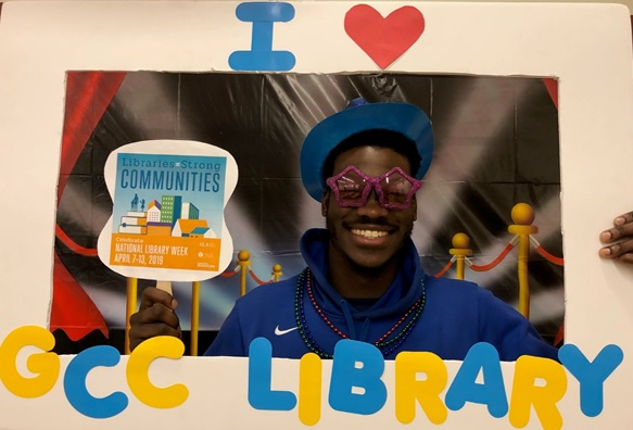 GCC Library Photo Booth