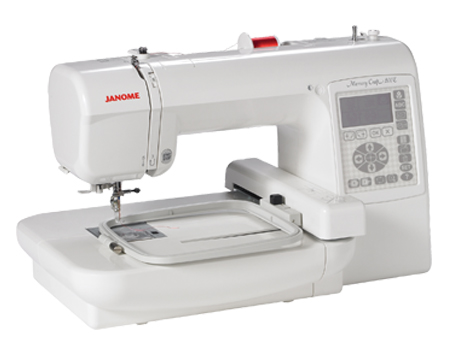 Janome embroidery machine