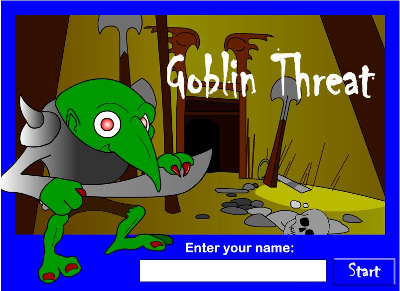 Click to play Goblin Threat Plagiarism Game