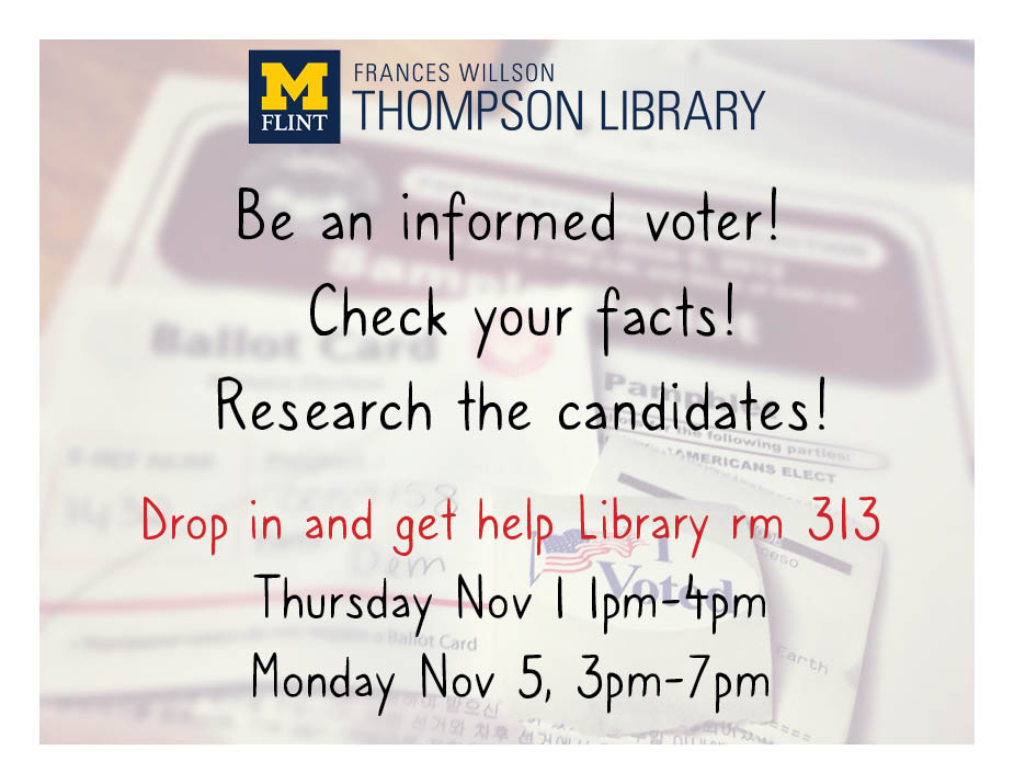 Election Research Drop-In Event