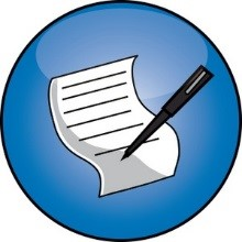 Image of pen and paper.  Click this link to be taken to the submission form.