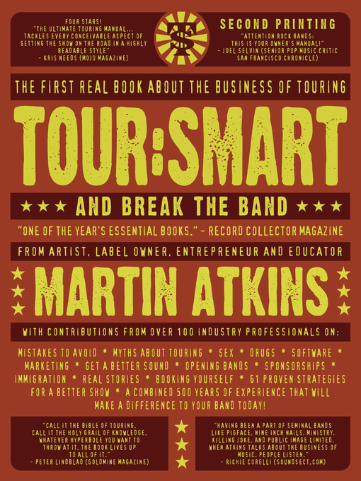 Tour: Smart And Break the Band by Martin Atkins
