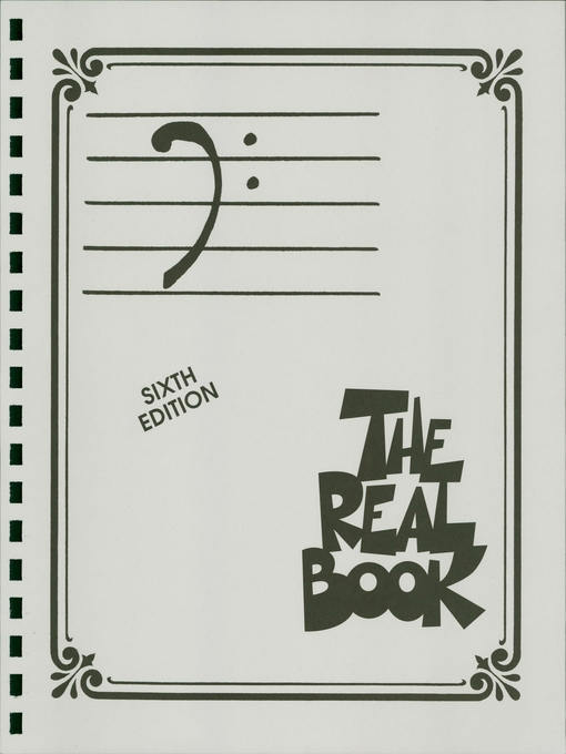 The Real Book--Volume I (Songbook) Bass Clef Edition by Hal Leonard Corp.