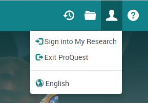 ProQuest Sign In