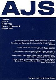 American Journal of Sociology
