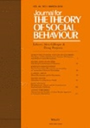 Journal for the Theory of Social Behavior