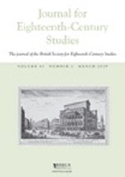Journal for Eighteenth-Century Studies