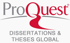 ProQuest Dissertations & theses Global logo