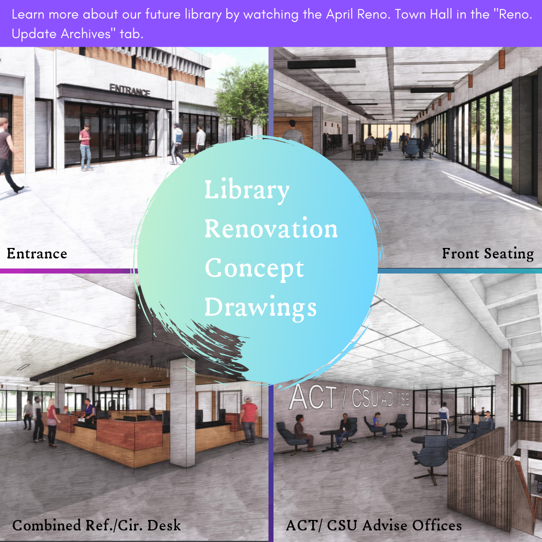 Library Renovation Concept Drawings