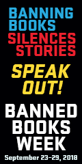 Banned Books Silence Stories Banner
