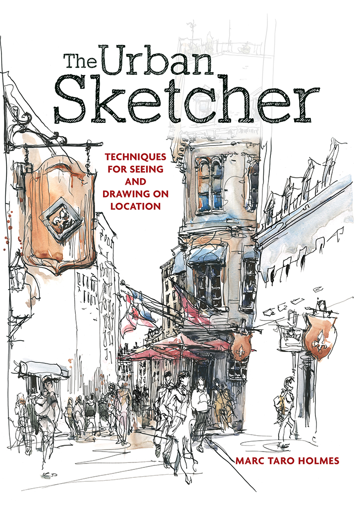 The Urban Sketcher, eBook cover image
