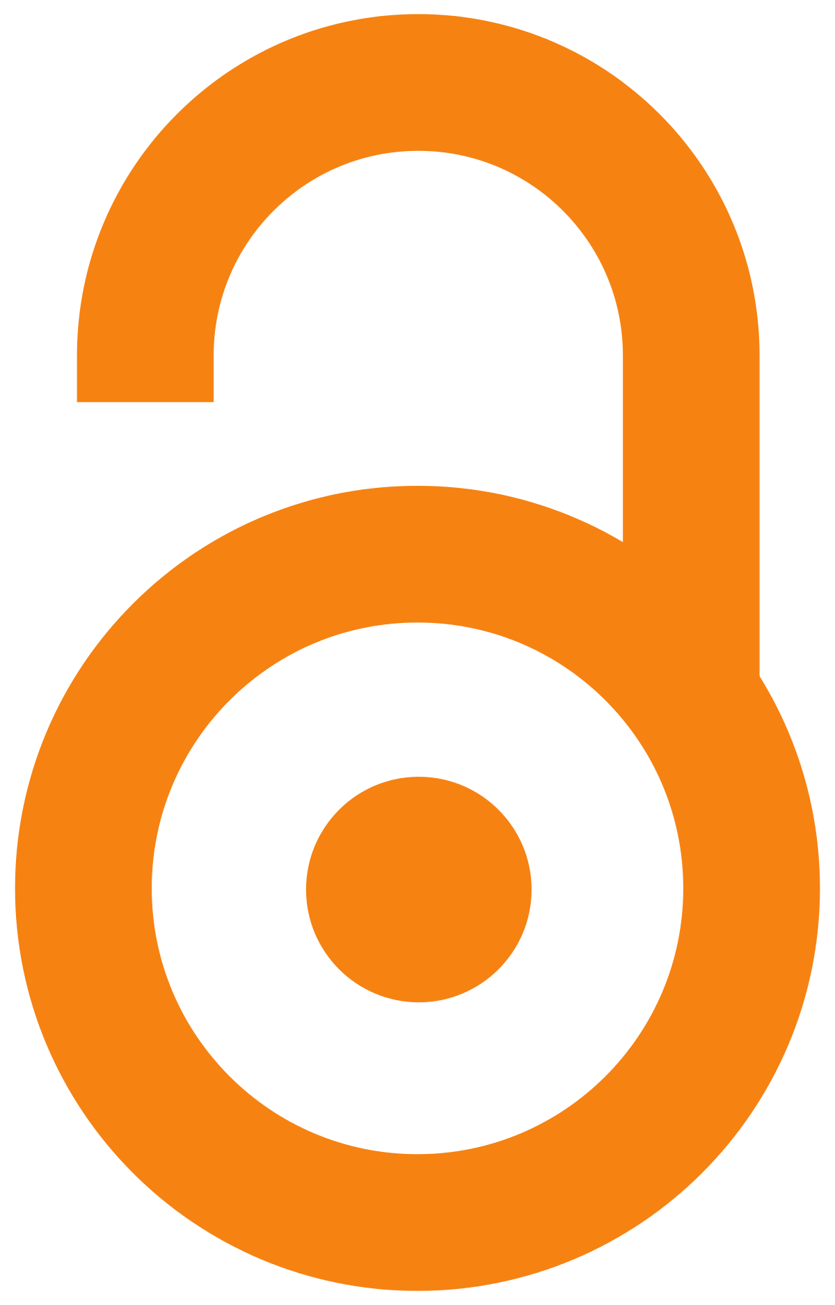 Open access unlocked logo.