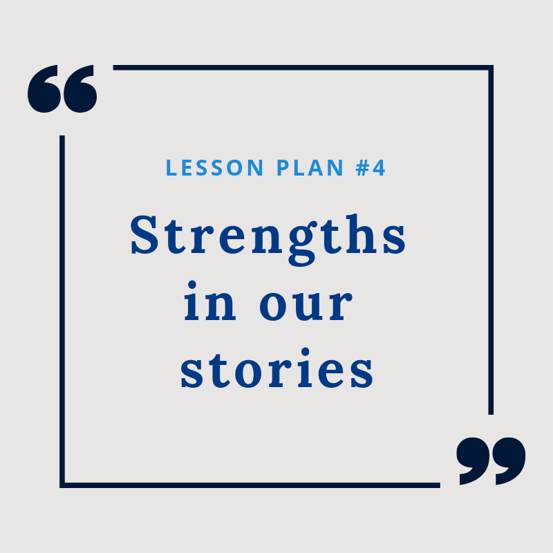 Lesson Plan #4: Strengths in our stories