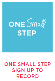 One small step reservation icon
