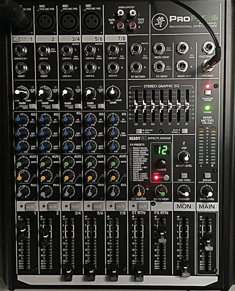 Sound Board original positions