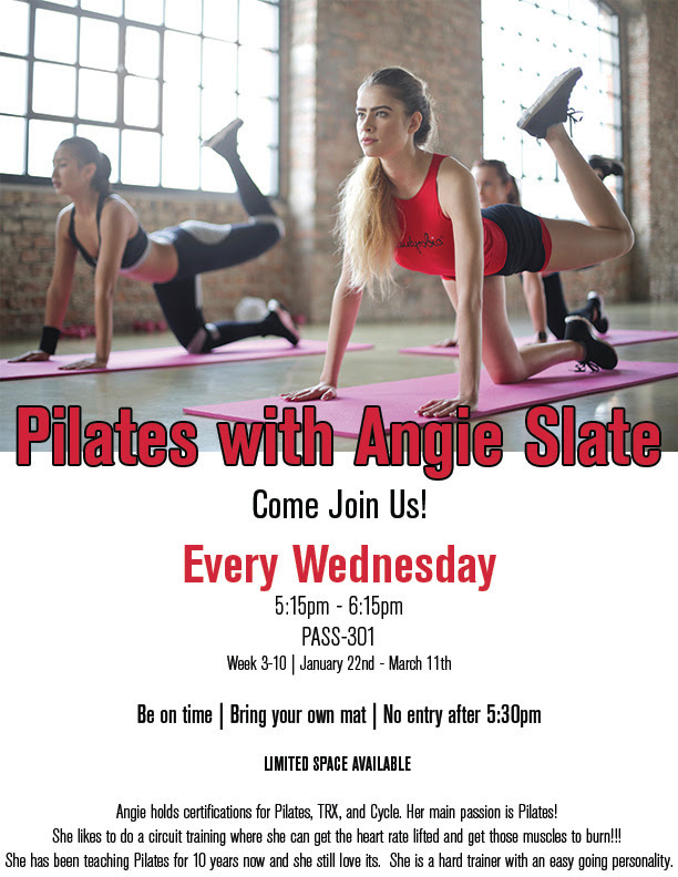 Pilates with Angie Slate