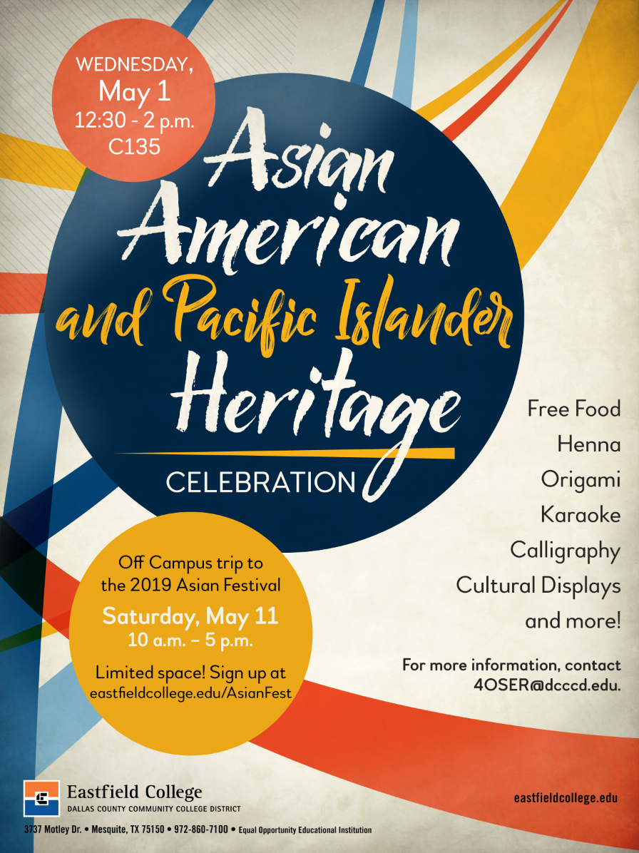 Asian American and Pacific Islander Heritage Celebration 2019