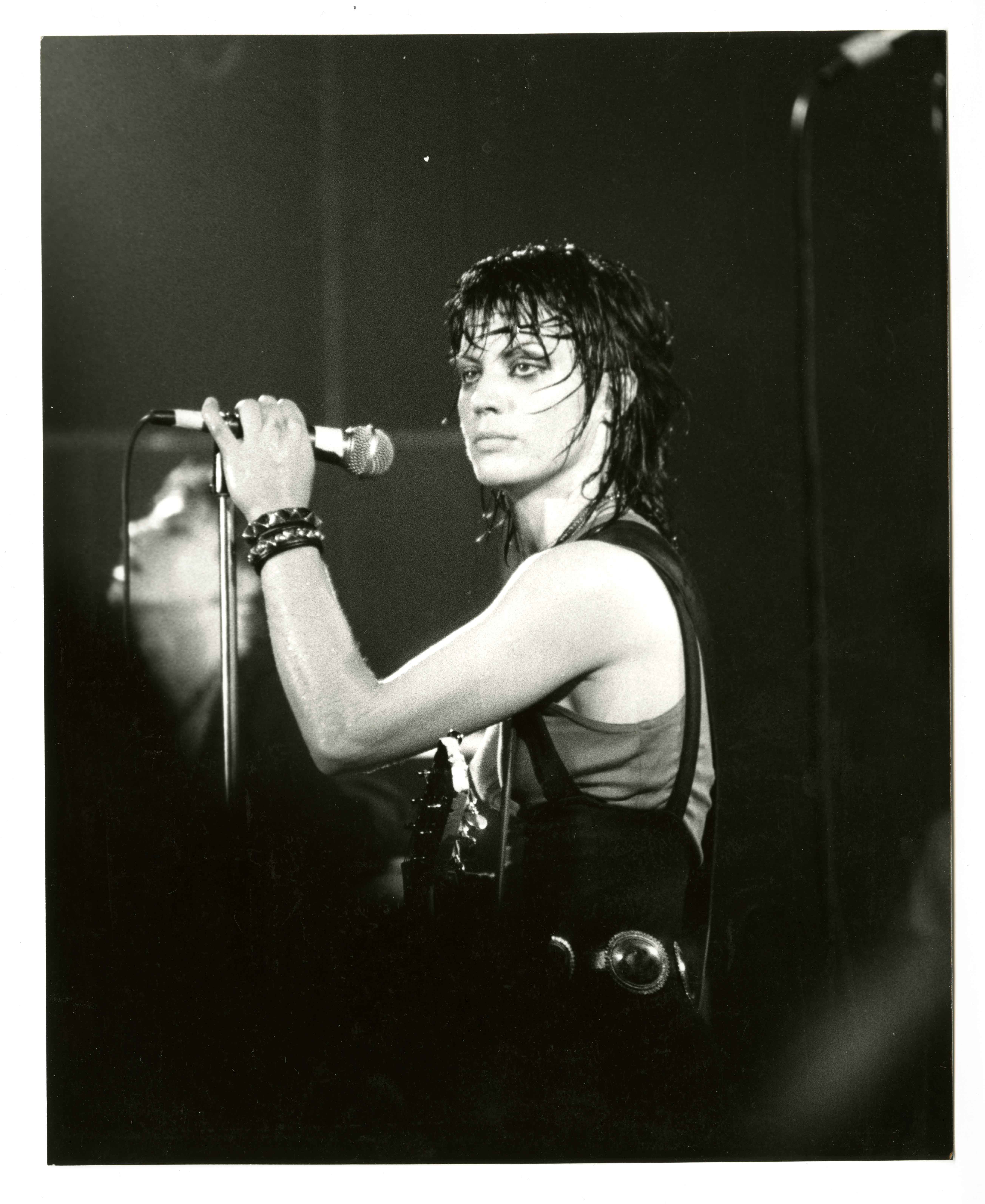Joan Jett performance photograph