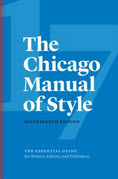 Cover of Chicago 17th edition