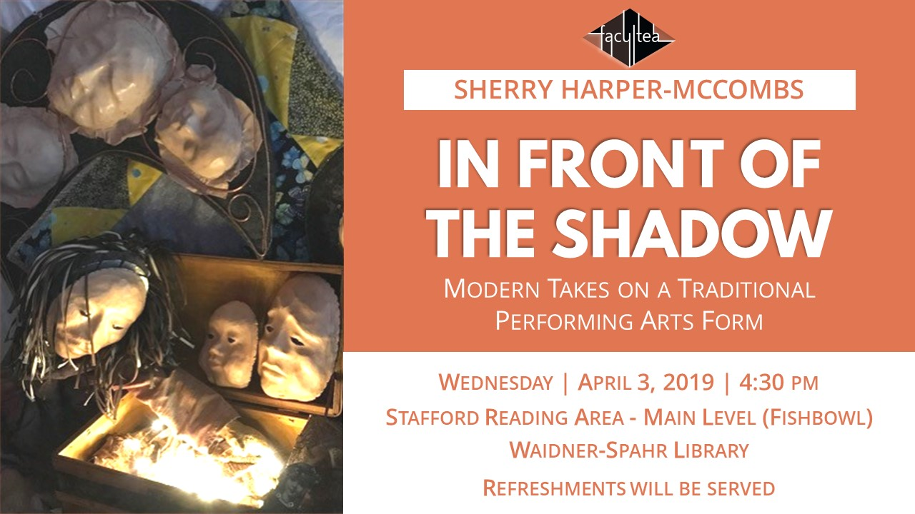 Sherry Harper-McCombs FaculTea ad