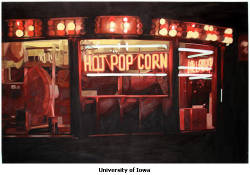 "Image of BILL HAMILTON's Hot Popcorn (Iowa State Fair), oil on canvas, 38"" x 57"", 2004"