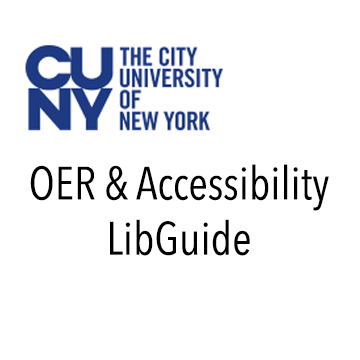 CUNY OER Accessibility