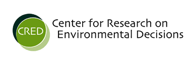 Center for Research on Environmental Decisions logo