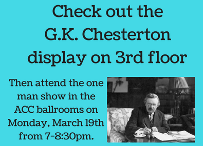 image about Chesterton display and event
