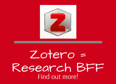 Zotero is your research friend