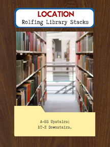 Rolfing Library Stacks