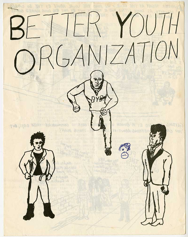 Better Youth Organization issue