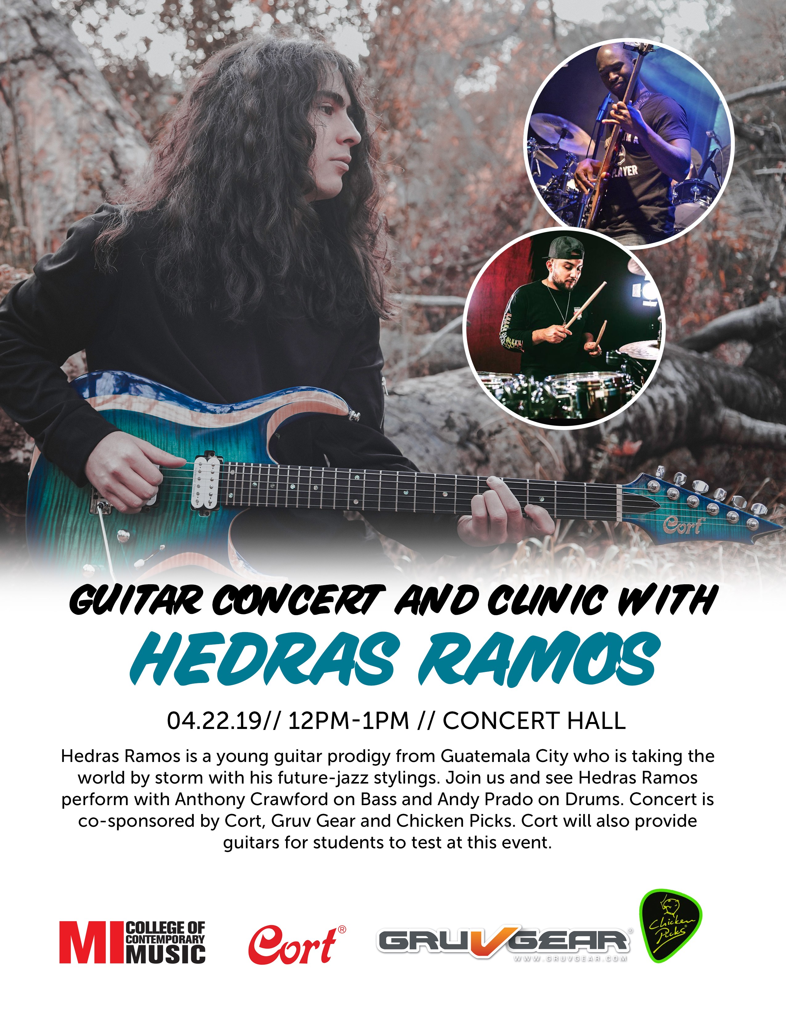 GUITAR CONCERT AND CLINIC WITH HEDRAS RAMOS