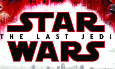 Portion of the DVD cover for Star Wars: The Last Jedi