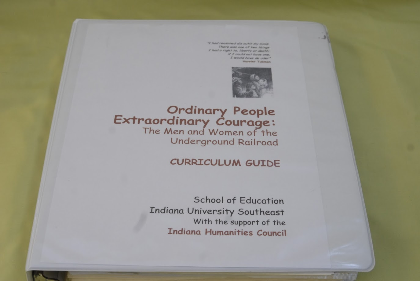 Curriculum Guide Binder