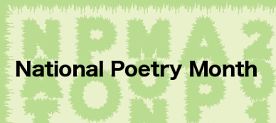 National Poetry Month banner