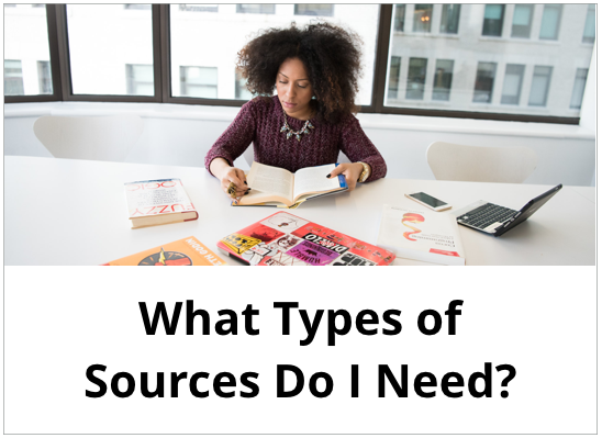 What Types of Sources Do I Need?