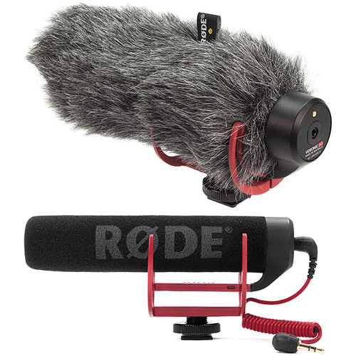 Videomic Go Microphone with Furry Windshield
