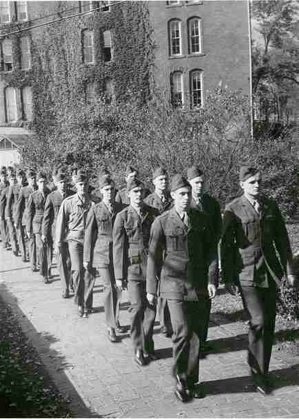 Marines March at Denison