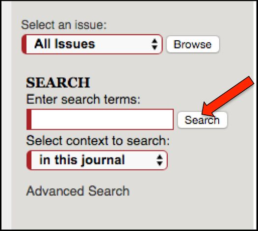 Search Field and button