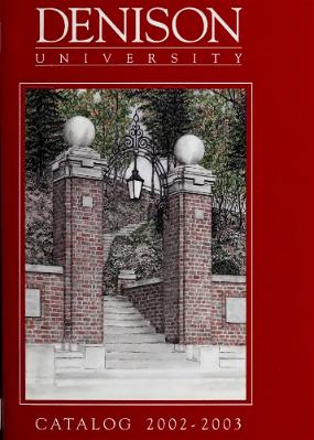 Denison Course Catalog