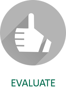 Evaluate Open Educational Resources icon and link