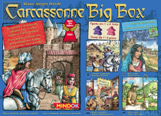 Carcassone board game picture