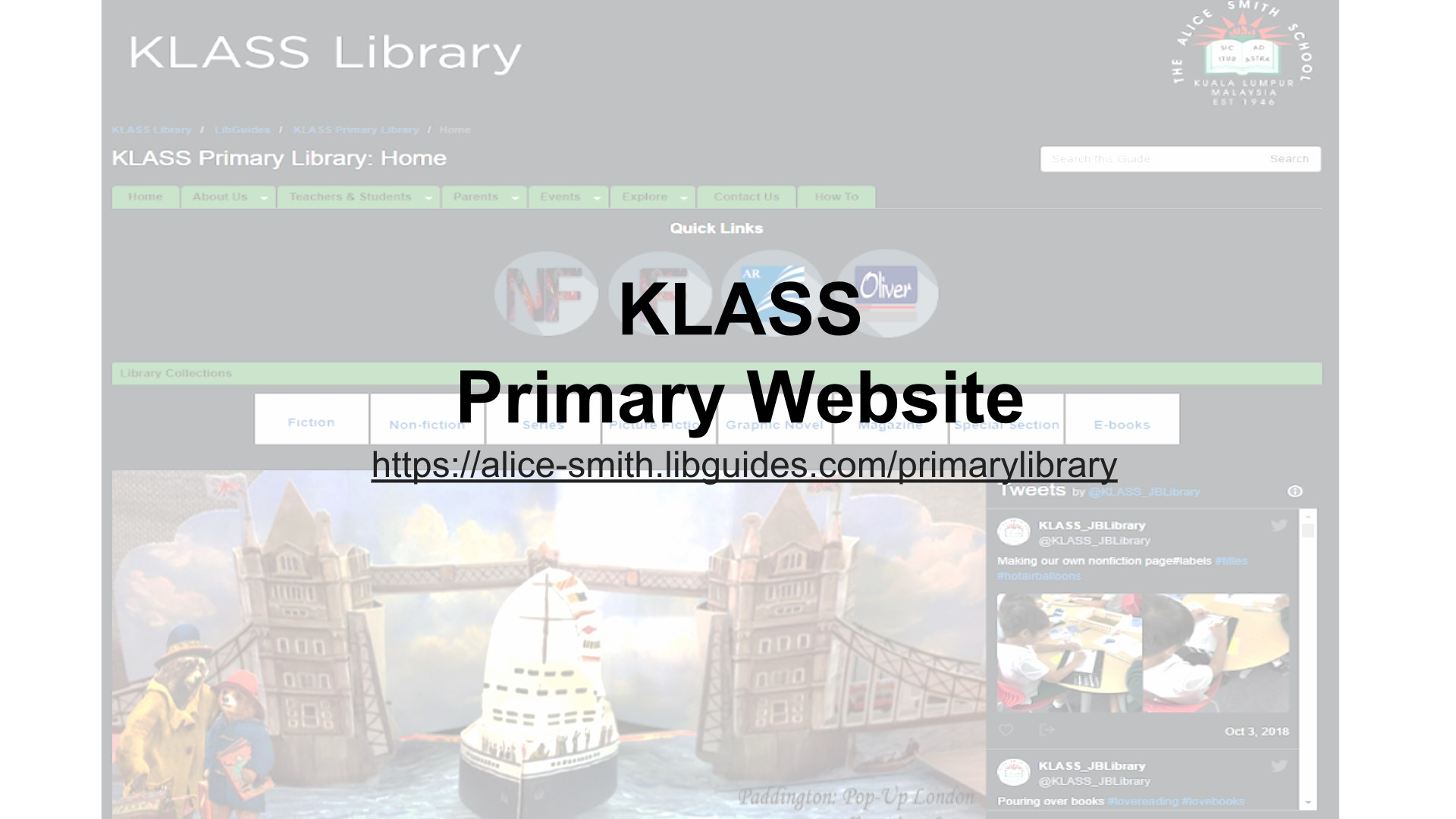 How To: Navigate Primary Library Website