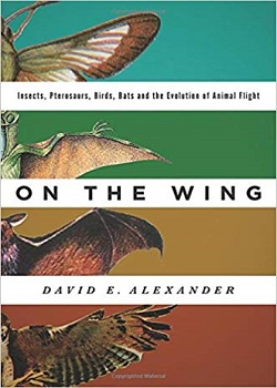On the Wing: Insects, Pterosaurs, Birds, Bats, and the Evolution of Animal Flight by David E. Alexander