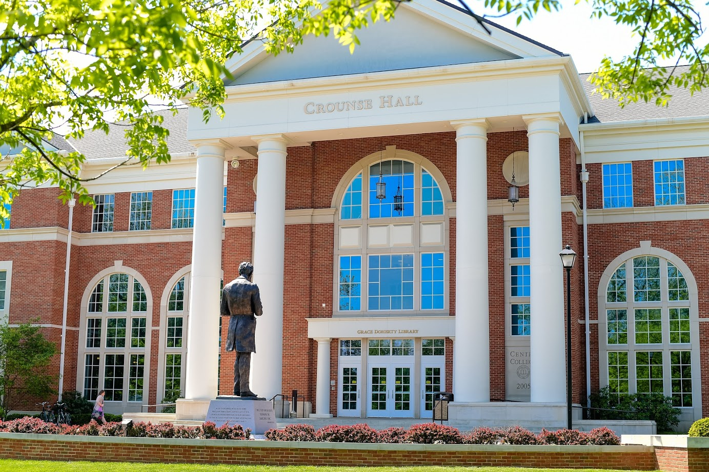 exterior image of Crounse hall